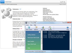 Click here for Virtual IP PBx Software Screenshots