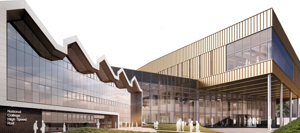 Doncaster and Birmingham campuses at the National College for High Speed Rail