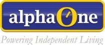 Alpha One Logo - Powering Independent Living