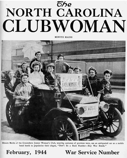 Women's Clubs | NCpedia