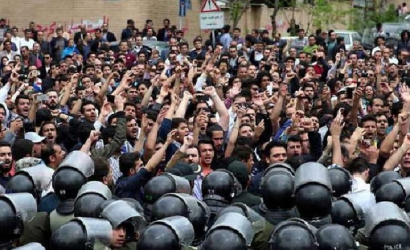 Protests and Strikes Spread in Iran; Regime Respond With ...