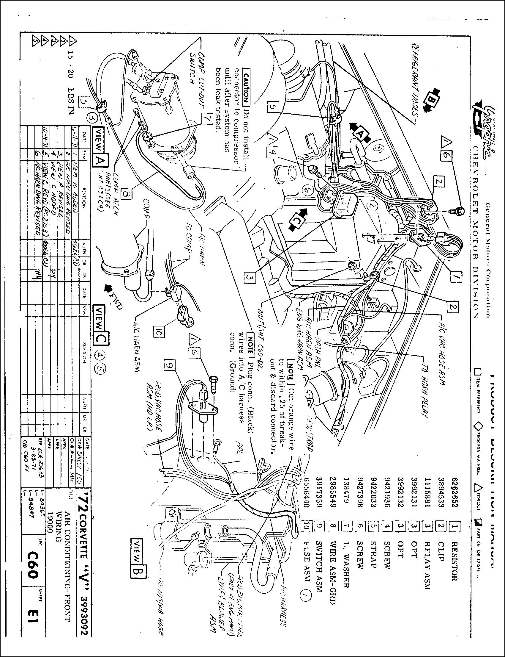 Chevy 350 Vacuum Diagram