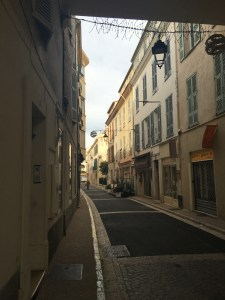My street in Antibes!
