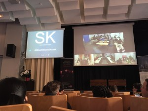 Cool use of educational technology to welcome master's students to Skema's programs in Raleigh, Paris, Sophia, and even Suzhou, China!