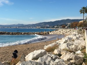 Such a beautiful day in Cannes!