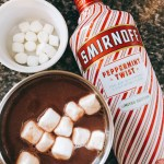 Fireside Cocktails: Warm Peppermint Patty