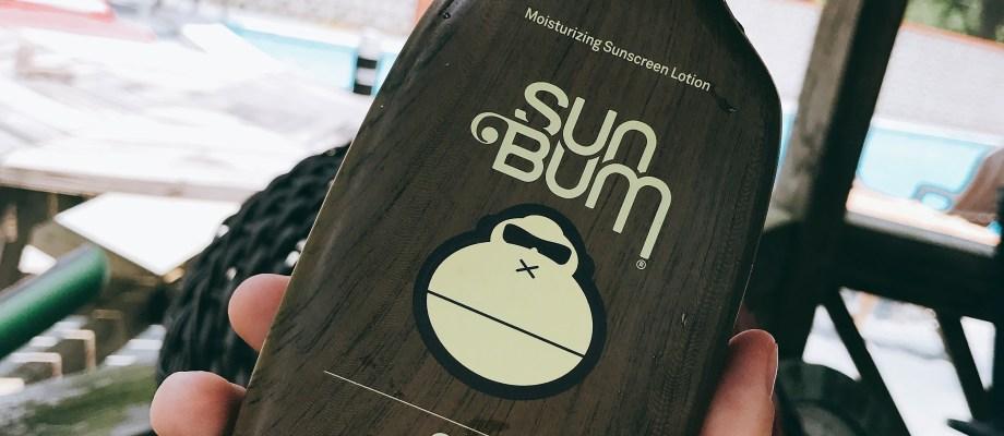 Summer Favorites: Sun Bum Sunscreen