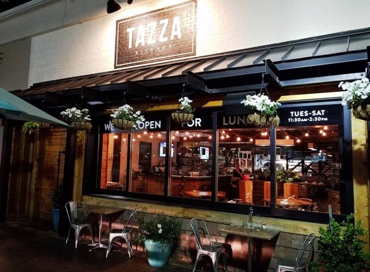 Tazza Kitchen Raleigh Great Pizza Small Plates