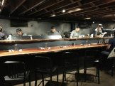 Sushi bar at M Sushi
