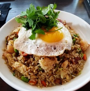 Com chien (fried rice) at CO in Raleigh