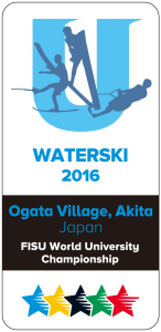 University World Water Ski Championship 2016 Logo