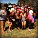 Missouri State University took home 1st place at Tiger Throwdown. Picture from Summer Lawson's Instagram.