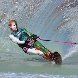 Michigan State Water Ski Team War Paint