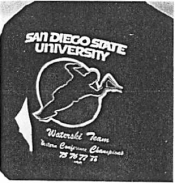 San Diego State University Water Skier Jacket - 1979
