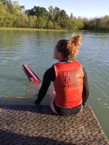 Cajun Water Ski Slalom Dock