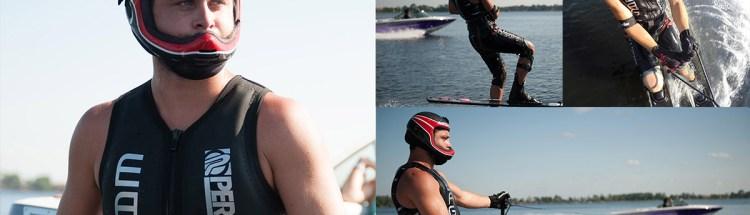 Zack Worden Water Ski Collage