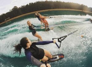 University of Alabama - Women's Trick Skiers