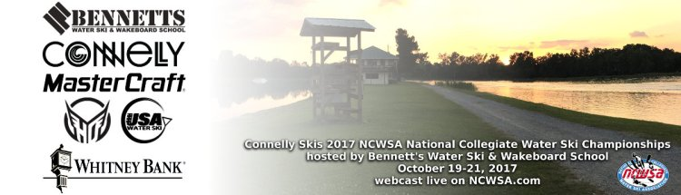 Connelly Skis 2017 NCWSA Nationals Banner: Whitney Bank