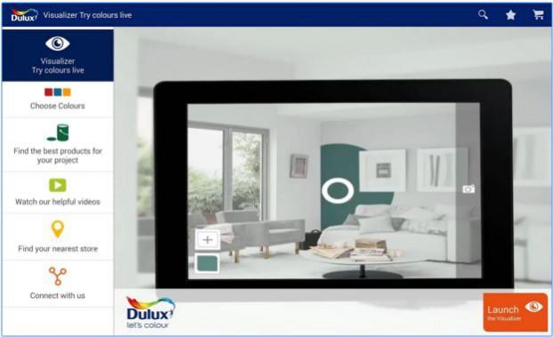 Dulux Visualizer App National Design Academy