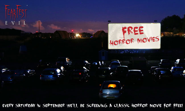 Free Horror Movies at Drive-In Cinema