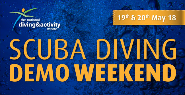 Scuba Diving Equipment Demonstration weekend
