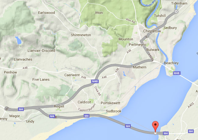 Alternative M4 Route to Chepstow