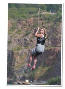 The Wire Zip Slide Chepstow