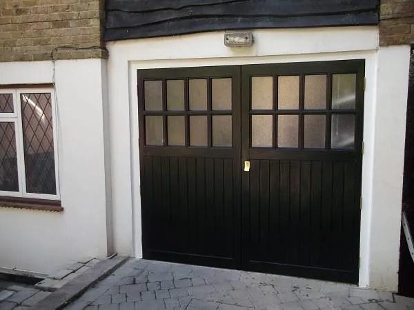 Side Hinged Garage Doors Side Hung Garage Doors Wooden