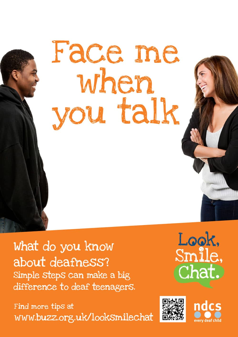 look smile chat poster documents and