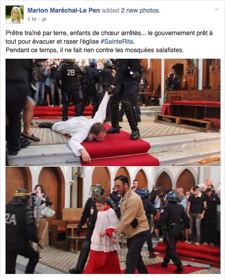 Le Gouvernement n'a jamais fait preuve d'une telle violence vis-à-vis des salafistes
