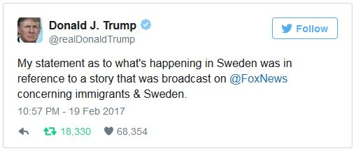 TweetTrumpSweden