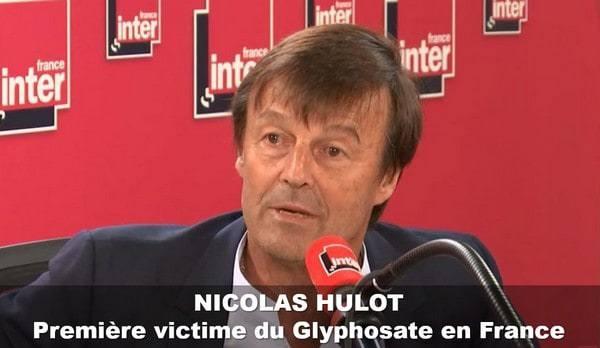 Écologie : Hulot, première victime française du glyphosate ?
