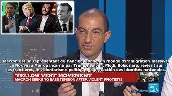Jean Messiha : « Macron représente l'Ancien Monde. Trump, Salvini et Bolsonaro le nouveau »