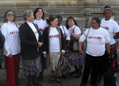 Colombian activists