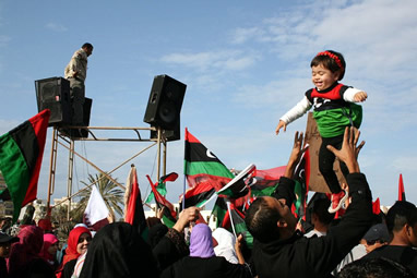Liberation Day in Libya