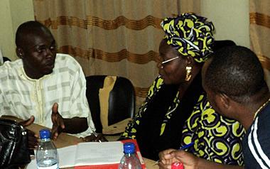 Woman councilor