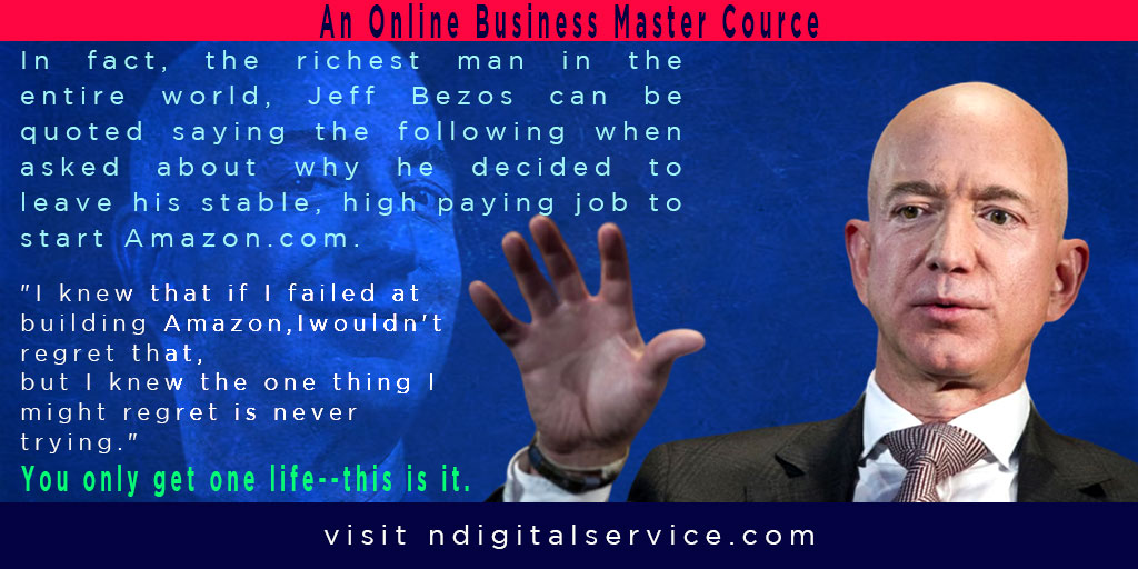 online business master cource