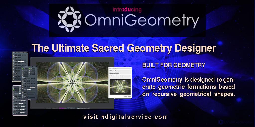 Ultimate Sacred Geometry Designer Software