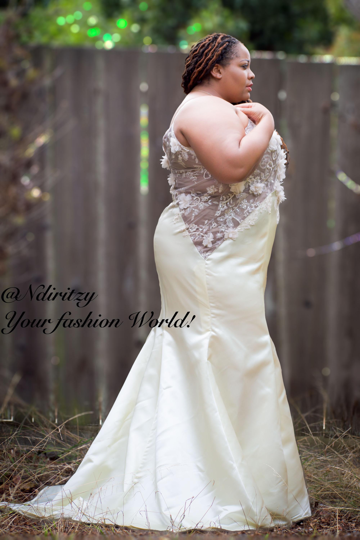 Plus Size Bridal Dress NdiRitzy