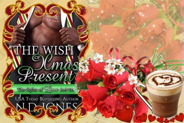 African American Black Contemporary Holiday Romance by ND Jones author