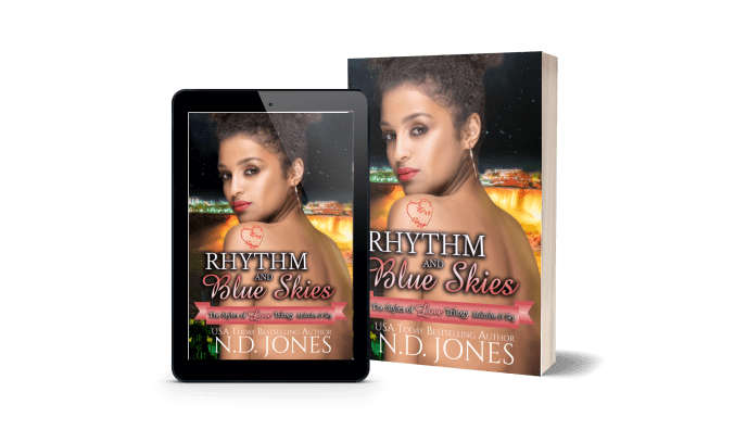 Rhythm and Blue Skies Contemporary Romance by ND Jones