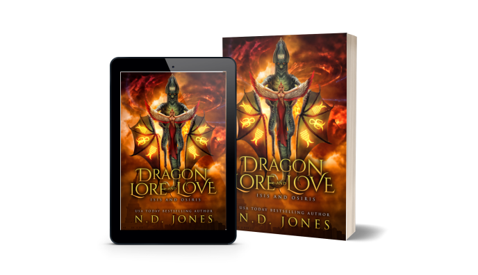Dragon Lore and Love Isis and Osiris African American Shifter Fantasy Romance by ND Jones