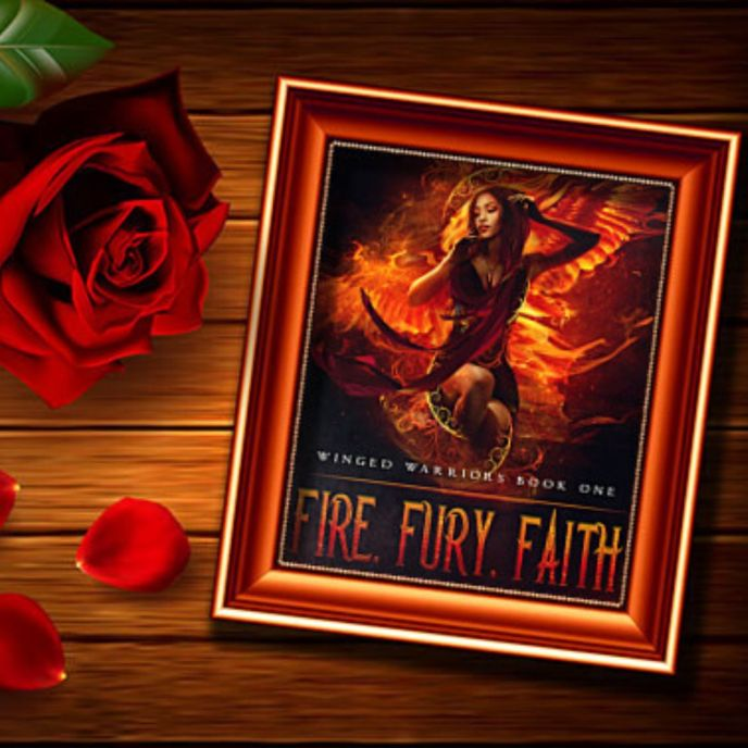 Fire, Fury, Faith African American Fantasy Angels by ND Jones