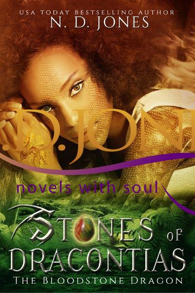 Stones of Dracontias-African American Paranormal Romance by ND Jones