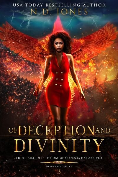 Of Deception and Divinity African American Paranormal Romance by ND Jones