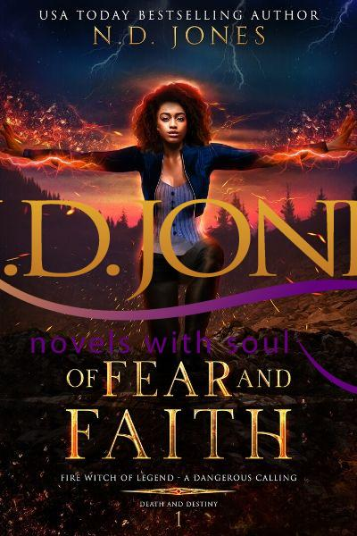 Of Fear and Faith African American Paranormal Romance by ND Jones