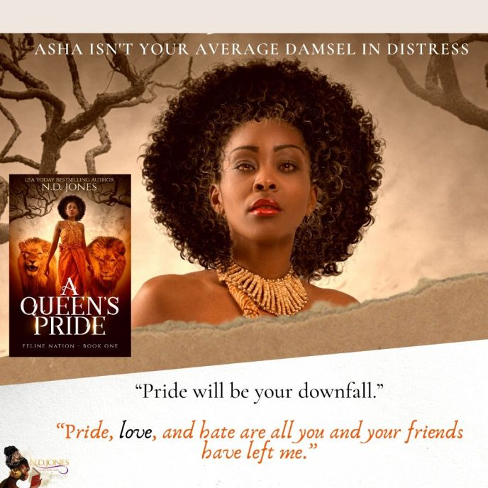 A queen's pride shifer urban fantasy by nd jones