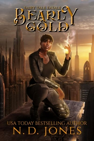 Bearly Gold African American Fantasy by ND Jones
