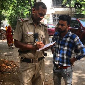 Filing Complaints & preventing tree felling in New Delhi-New Delhi Nature Society NGO