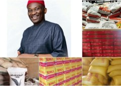 DELTA LOCKDOWN: Aniocha/Oshimili Federal Constituency to Receive Food Items From the Rep Minority Leader Worth Over N45 Million